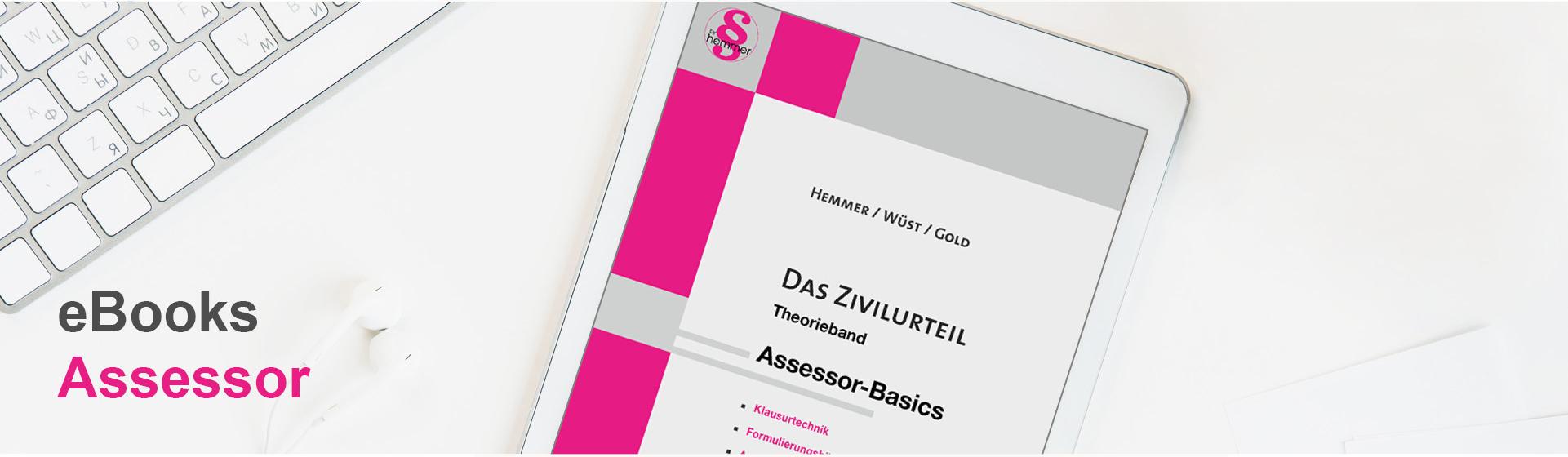hemmer Assessor Skripten als eBook - Das Erfolgsprogramm für das Assessorexamen