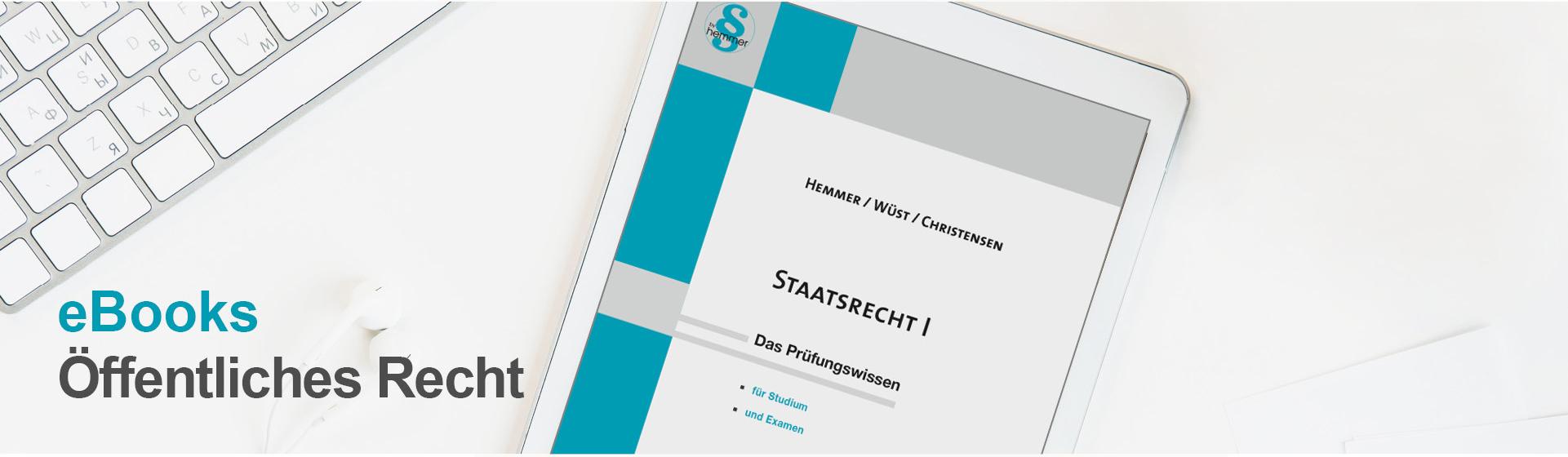 hemmer eBooks Öffentliches Recht