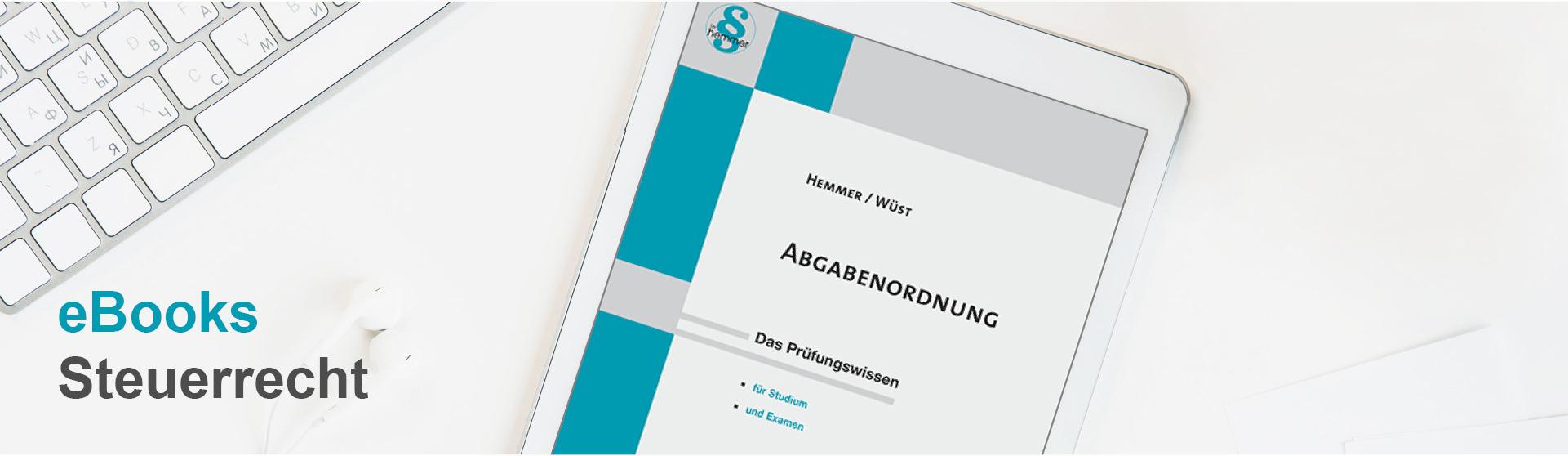 hemmer eBooks Steuerrecht