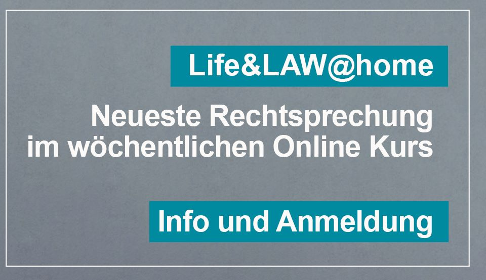 Life & Law @ home