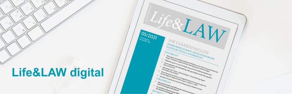 Die Life&LAW als eBook