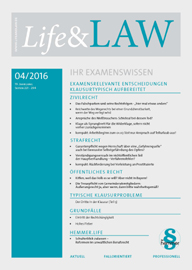 Life&LAW Ausgabe 2016/04