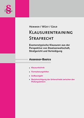 eBook Assessor Klausurentraining Strafrecht