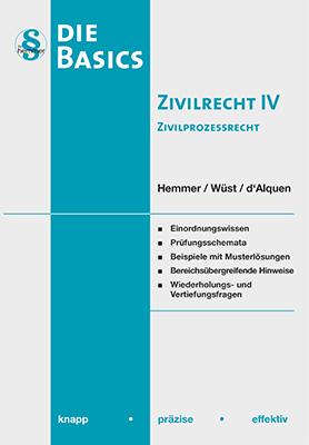 eBook - Basics Zivilrecht IV - Zivilprozessrecht (ZPO)