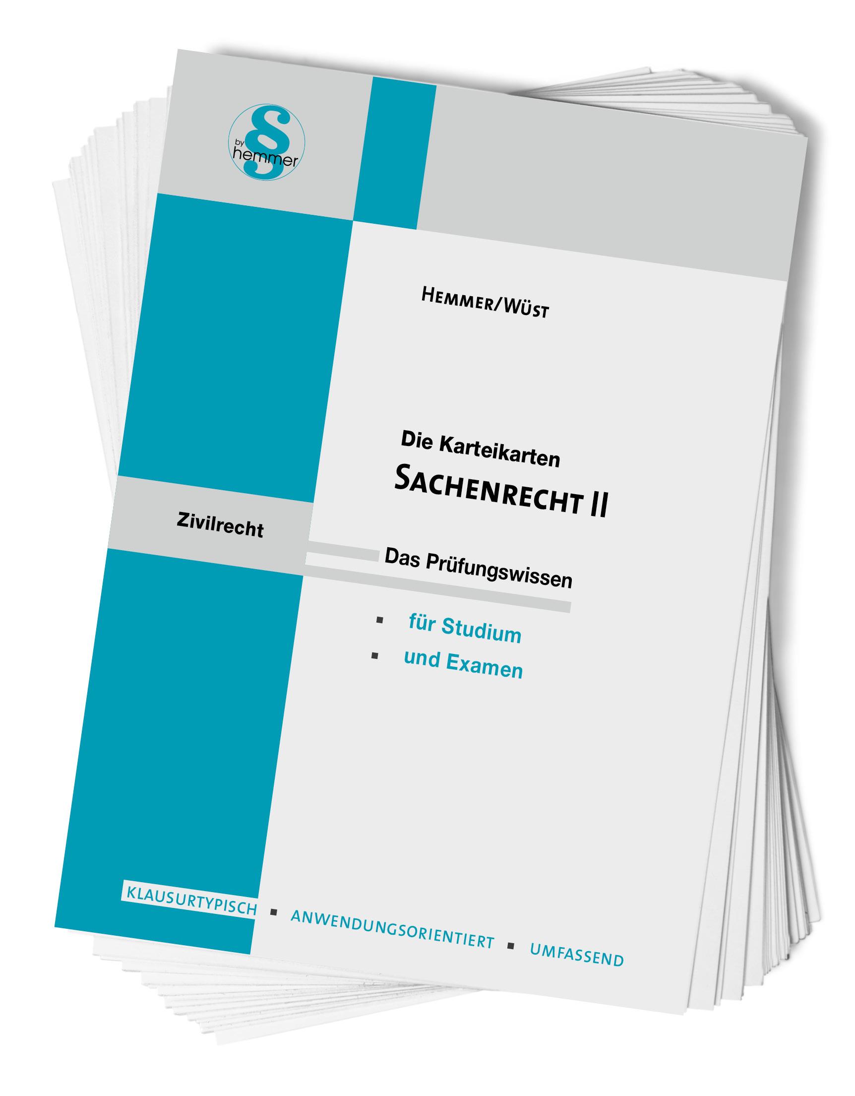 Karteikarten Sachenrecht II