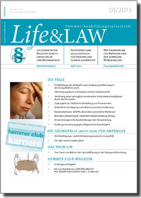 Life&LAW Ausgabe 2013/01