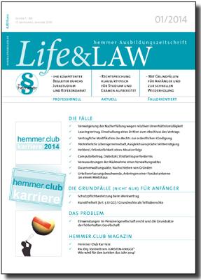 Life&LAW Ausgabe 2014/01