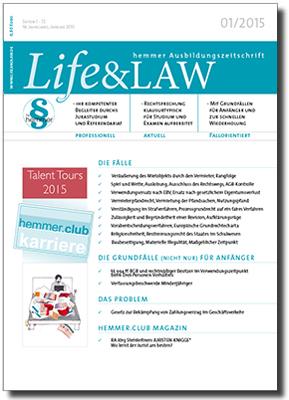 Life&LAW Ausgabe 2015/01