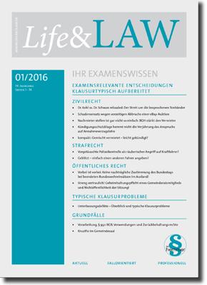 Life&LAW Ausgabe 2016/01