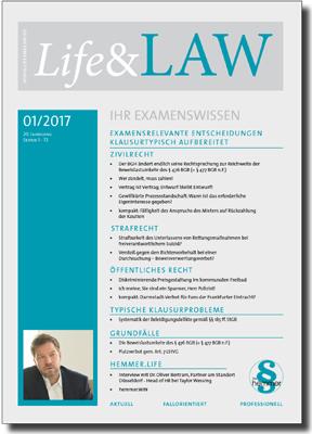 Life&LAW Ausgabe 2017/01