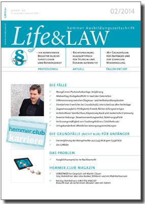Life&LAW Ausgabe 2014/02