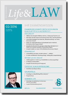 Life&LAW Ausgabe 2016/02