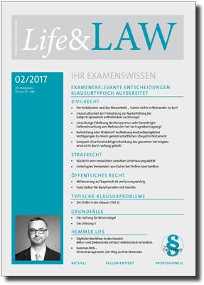 Life&LAW Ausgabe 2017/02