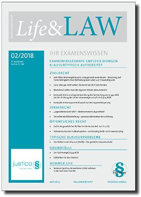 Life&LAW Ausgabe 2018/02