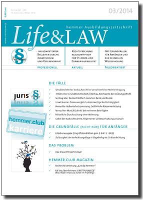 Life&LAW Ausgabe 2014/03