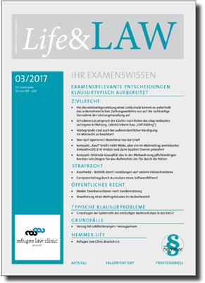 Life&LAW Ausgabe 2017/03