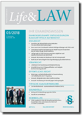 Life&LAW Ausgabe 2018/03