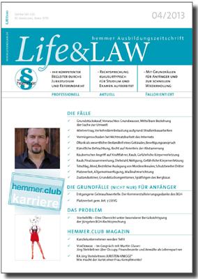 Life&LAW Ausgabe 2013/04
