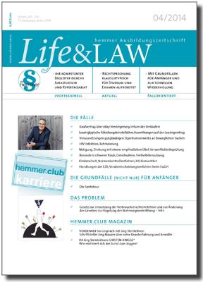 Life&LAW Ausgabe 2014/04