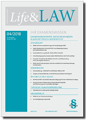 Life&LAW Ausgabe 2018/04