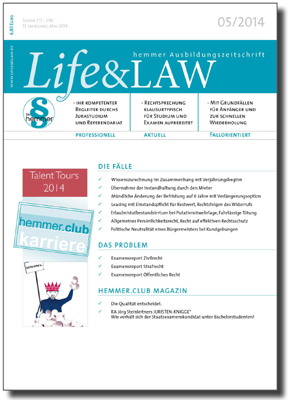 Life&LAW Ausgabe 2014/05