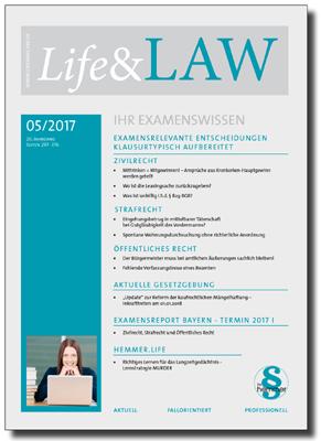 Life&LAW Ausgabe 2017/05