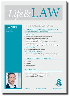 Life&LAW Ausgabe 2018/05