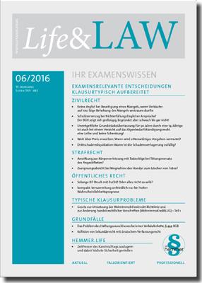 Life&LAW Ausgabe 2016/06