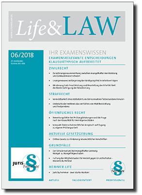 Life&LAW Ausgabe 2018/06