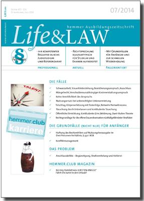 Life&LAW Ausgabe 2014/07