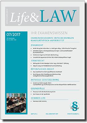 Life&LAW Ausgabe 2017/07