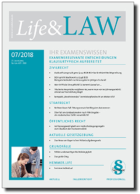 Life&LAW Ausgabe 2018/07