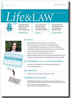 Life&LAW Ausgabe 2014/08