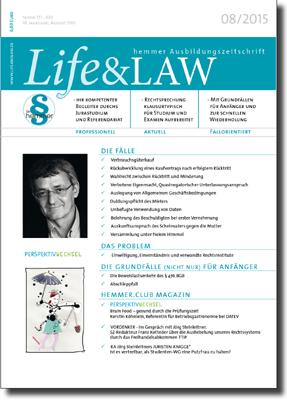 Life&LAW Ausgabe 2015/08