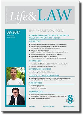 Life&LAW Ausgabe 2017/08