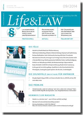 Life&LAW Ausgabe 2014/09