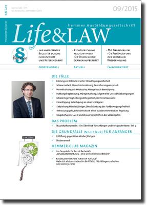 Life&LAW Ausgabe 2015/09