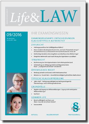 Life&LAW Ausgabe 2016/09