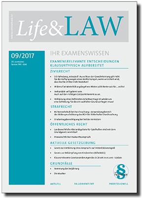 Life&LAW Ausgabe 2017/09