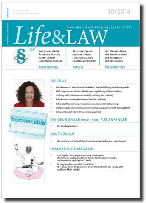 Life&LAW Ausgabe 2014/10