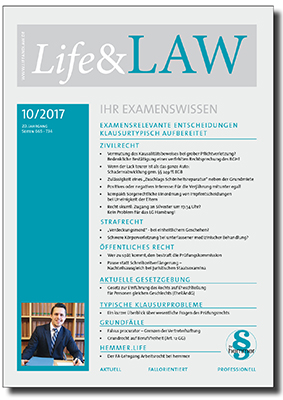 Life&LAW Ausgabe 2017/10