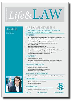 Life&LAW Ausgabe 2018/10