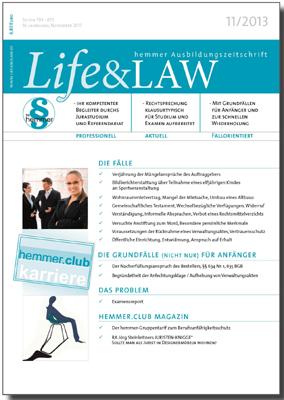 Life&LAW Ausgabe 2013/11