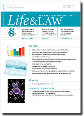 Life&LAW Ausgabe 2014/11