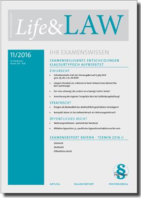 Life&LAW Ausgabe 2016/11
