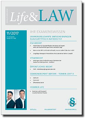 Life&LAW Ausgabe 2017/11