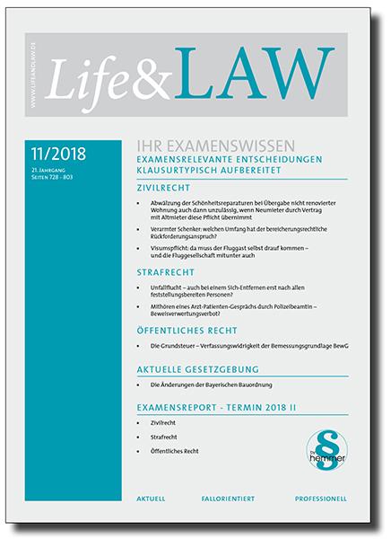 Life&LAW Ausgabe 2018/11