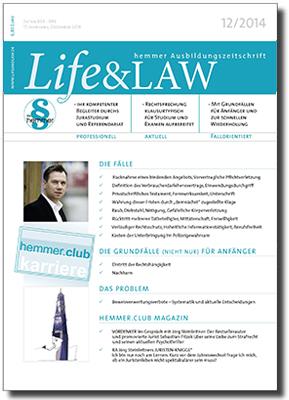 Life&LAW Ausgabe 2014/12
