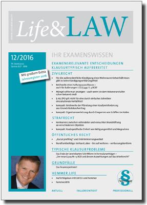 Life&LAW Ausgabe 2016/12