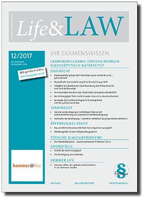 Life&LAW Ausgabe 2017/12